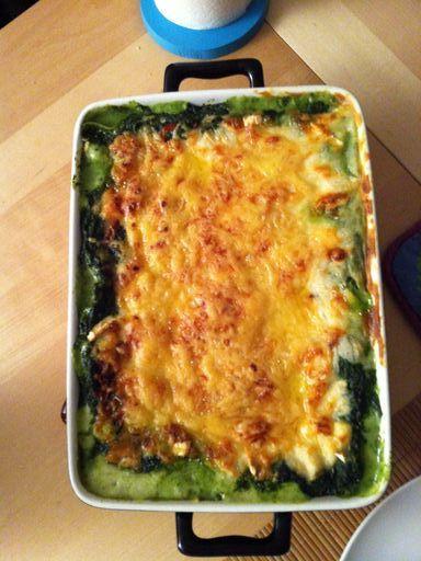 Lasagnes chèvre et épinards - Recette de cuisine Marmiton : une recette