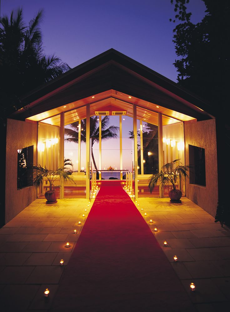 Romantic Even Wedding Chapel