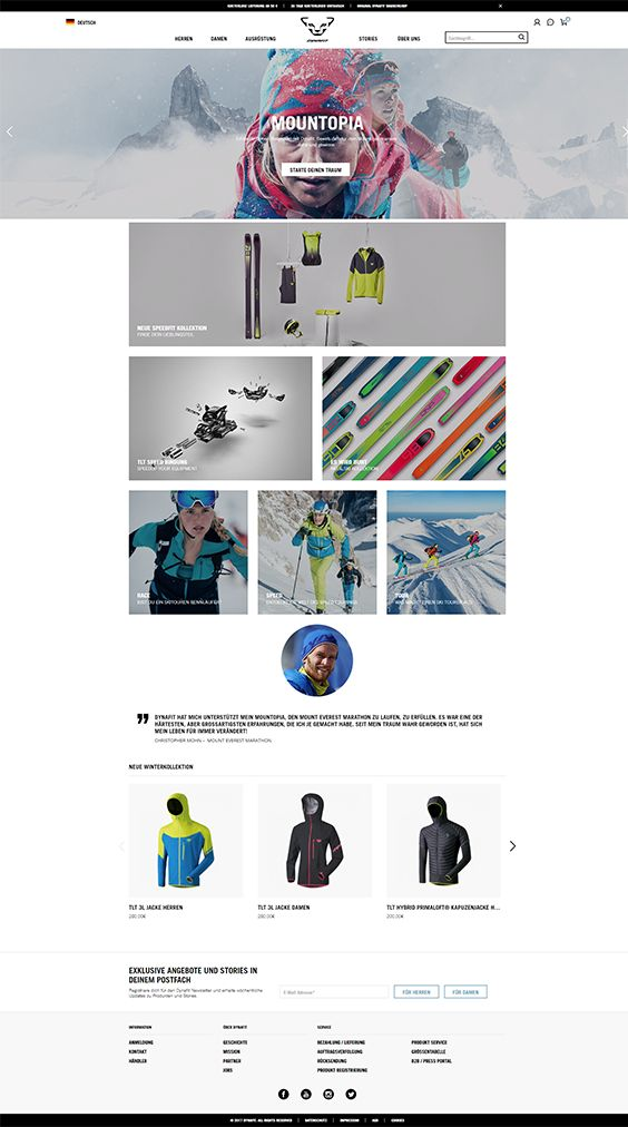 #ShopwareDesign #ShopwareTheme #ShopwareShop #eCommerce #eCommerceSoftware #eCommerceplatform #Onlineshop #Outdoor #Skiing #mountainendurancesports