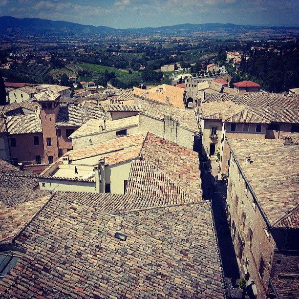 Un mare di tetti #InMontefalco foto di @alericettedicultura