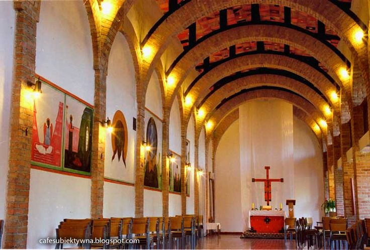 Jerzy Nowosielski - sacrum full of passion. Interior of the church and chapel in Wesoła, Warsaw.