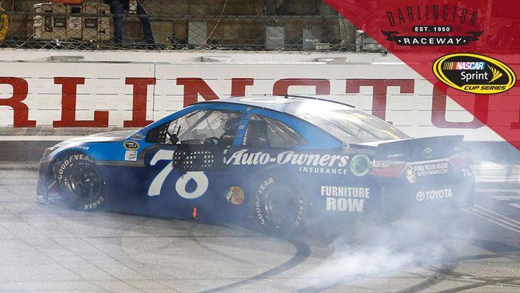 Classic burnout for Truex on throwback weekend..#78 Martin Truex Jr. Wins…
