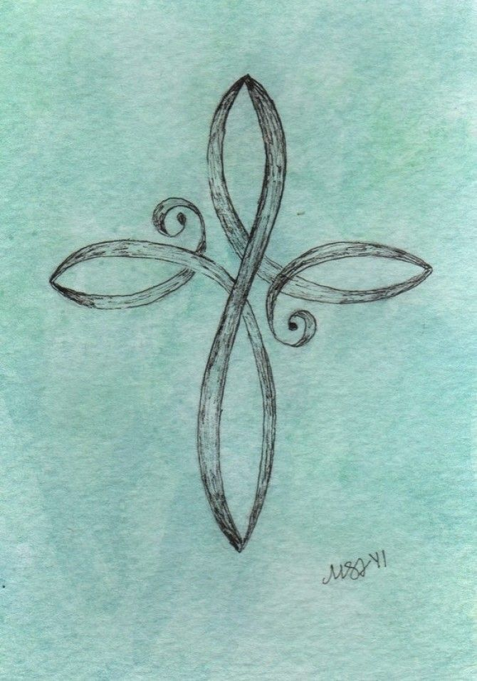 Want this! Baby Cross on my wrist!