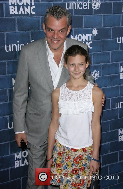 Danny Huston Daughter | Picture - Danny Huston and daughter at Hotel Bel-Air Oscars Los ...