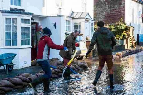 Forty days of flooding for Hampshire village Hambledon horrors for 40 days St Swithuns