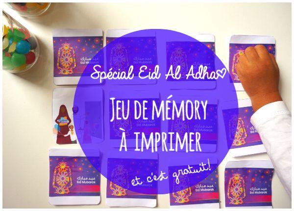 Spécial Eïd el Adhaa : activité pour enfants à imprimer ! | Mouslima Avenue