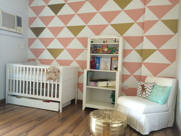 Our baby's nursery! 5 weeks to go