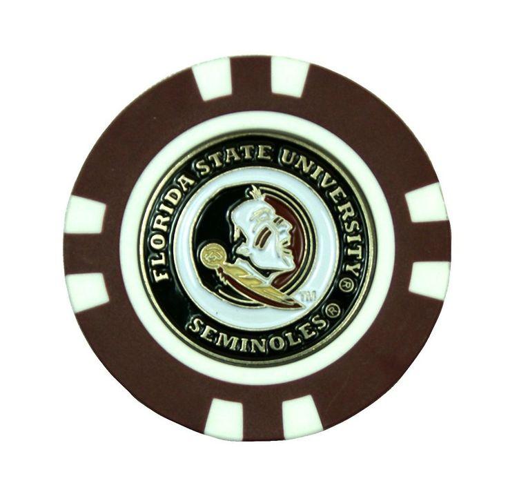 Florida State Seminoles Golf Chip with Marker - Bulk