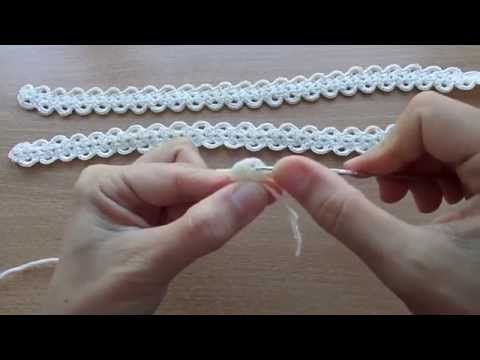 Шнур ГУСЕНИЧКА Cord Crochet - YouTube