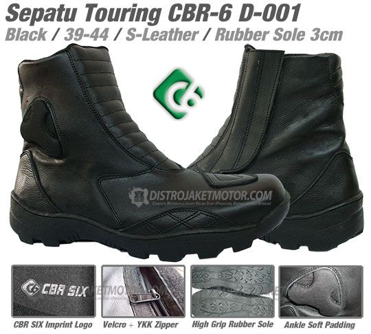 Sepatu Touring Distro Jaket Motor Contin