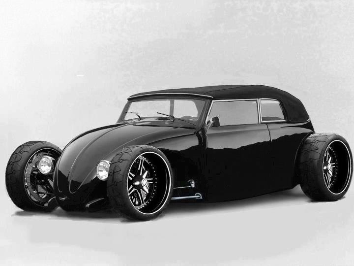 Now this is a VW I might consider driving, only if it has a Porsche 911 Twin turbo motor.