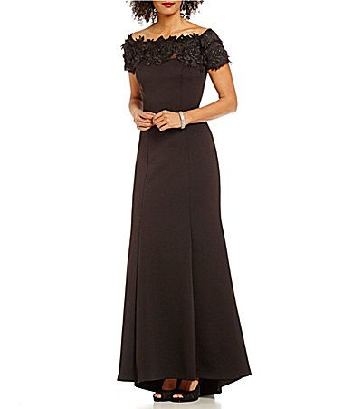 Ignite Evenings Lace OffTheShoulder Gown #Dillards