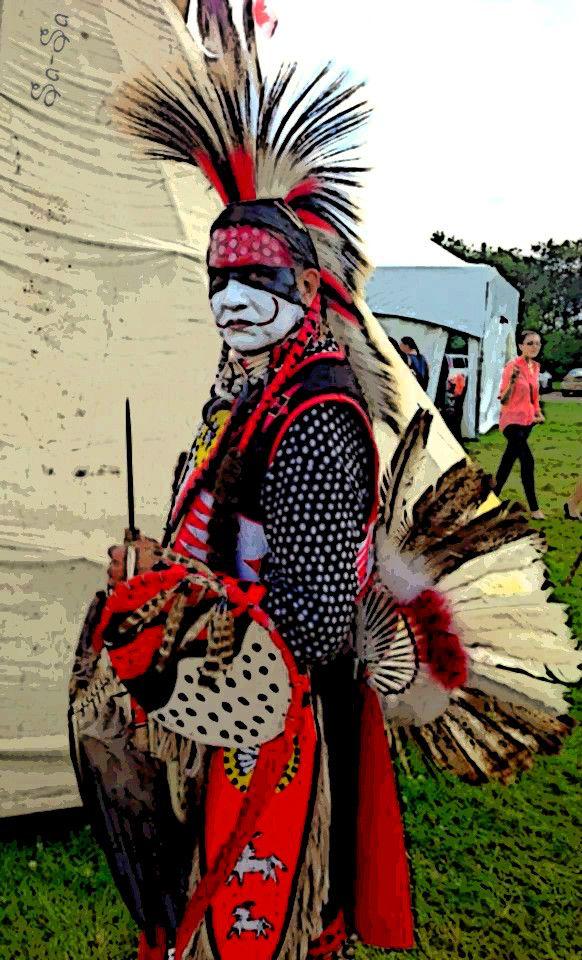 Cree Dancer, Heritage Days, Alberta