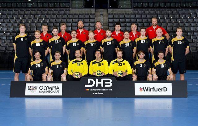 #MATCHDAY- und was für einer! Unsere Junioren spielen bei der EM in Dänemark gegen Spanien um die Goldmedaille (gab es das nicht dieses Jahr schon einmal?😜/ ab 17 Uhr im Livestream unter www.m20euro2016.com/livestream) und die #BadBoys starten gegen Schweden in das Olympische Turnier (16.30 Uhr/live im ZDF) 😍😊! Was für ein Handballfest - ein kurzer Stimmungscheck: Seid ihr bereit für den großen Handballnachmittag? 😎 Foto: Marco Wolf #WirfuerD #Rio2016 #aufgehtsDHB @olympiamannschaft