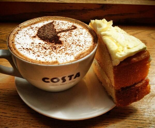 Missing this sh*t. Used to get molto writing done in Costa, thanks to the magic bean.