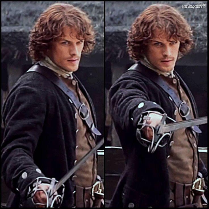 Sam/Jamie #SamHeughan  #JamieFraser  #Outlander