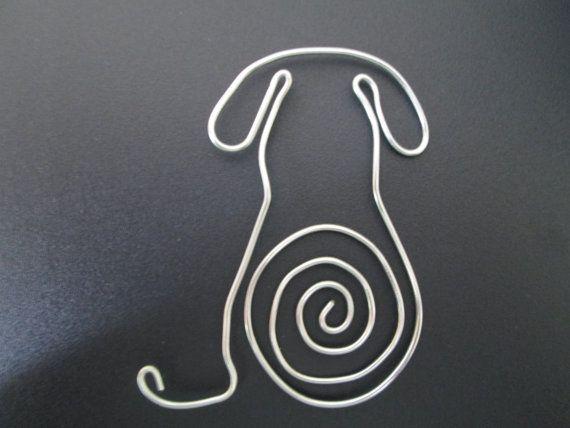 wire-dog-bookmark