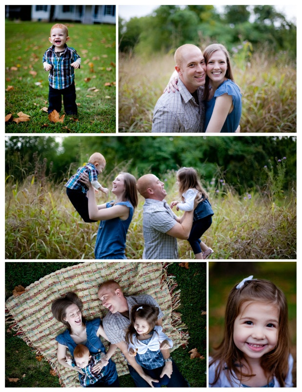 great fall autumn family session