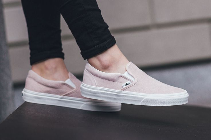 "Vans Slip-On ""Pink Croc"" - EU Kicks: Sneaker Magazine"