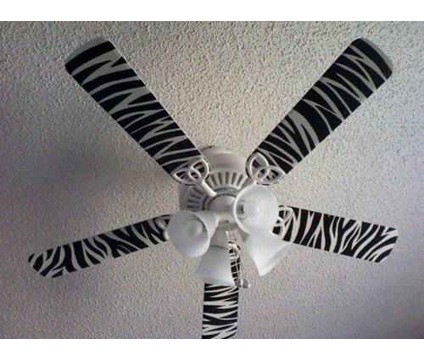 Hand Painted Ceiling Fan Blades is a Lamps, Lighting & Ceiling Fans for Sale in Idalou TX