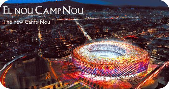 Barcelona 2015 - New Camp Nou stadium