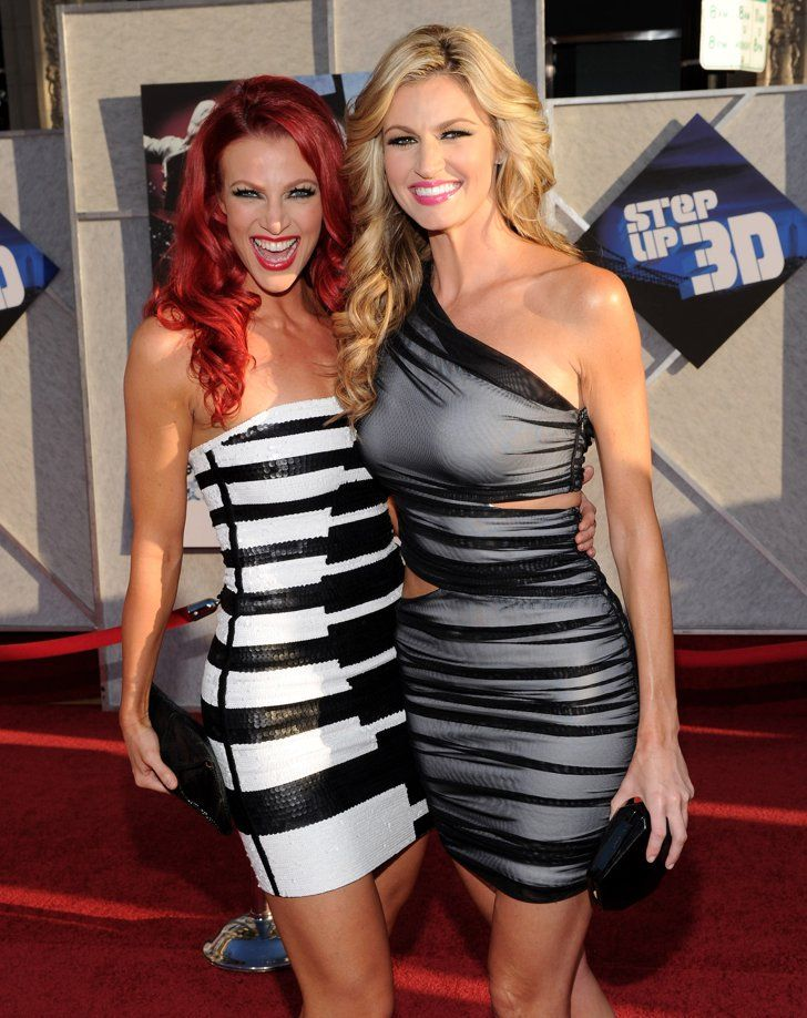 Pin for Later: Celebrity Siblings You Probably Didn't Know About Erin and Kendra Andrews Sports commentator Erin Andrews has a younger sister named Kendra. She is an actress and professional dancer and starred in Step Up 3D.