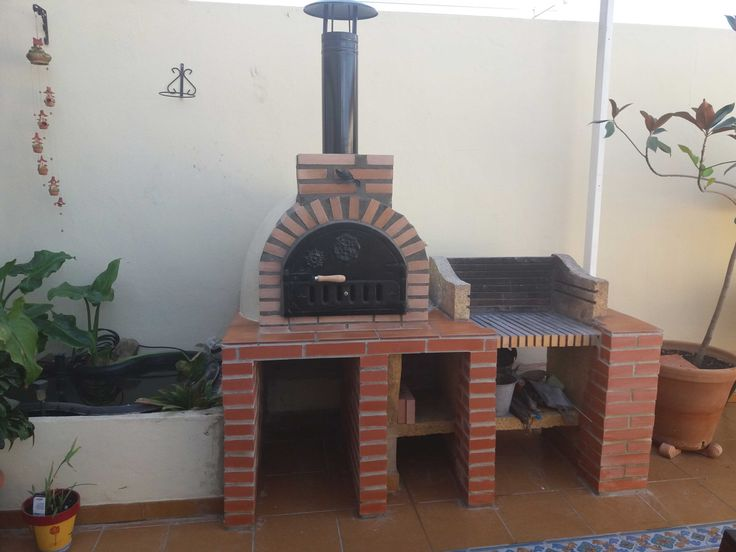 25 best churrasqueras images on Pinterest | Outdoor kitchens ...