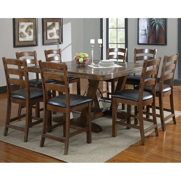 1000 images about counter height dining table on for Breakfast table with stools