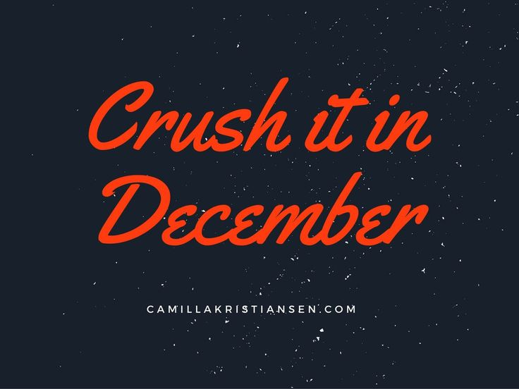 It's here. My new online program where you will double your income and really CRUSH IT in December. Get in now!!!