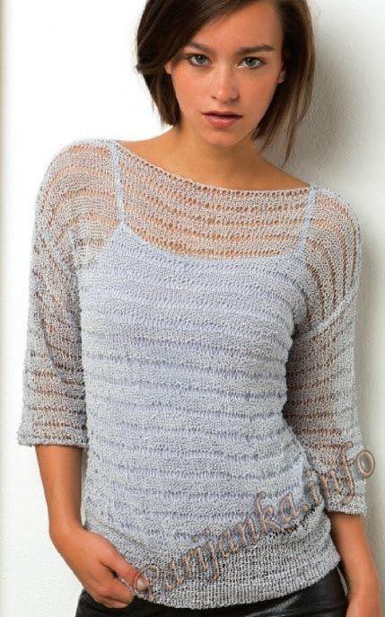 Пуловер (ж) 52*218 FAM №4840