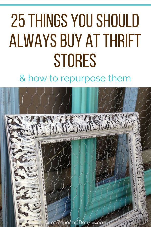 25 Things That You Should Always Buy At Thrift Stores Funky Home Decor Thrifting Repurposed
