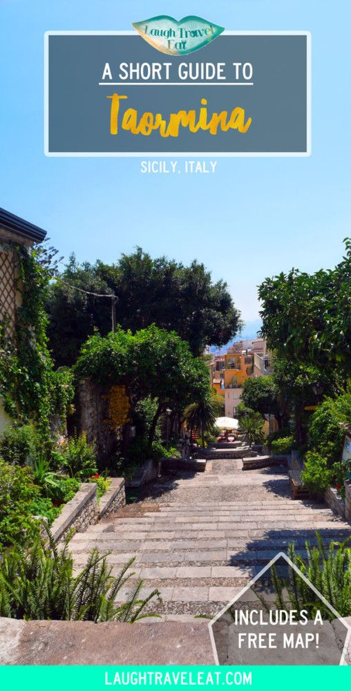 Taormina is my second favourite stop in Sicily right after the Aeolian Islands. A charming city brimming with history, here's what to see