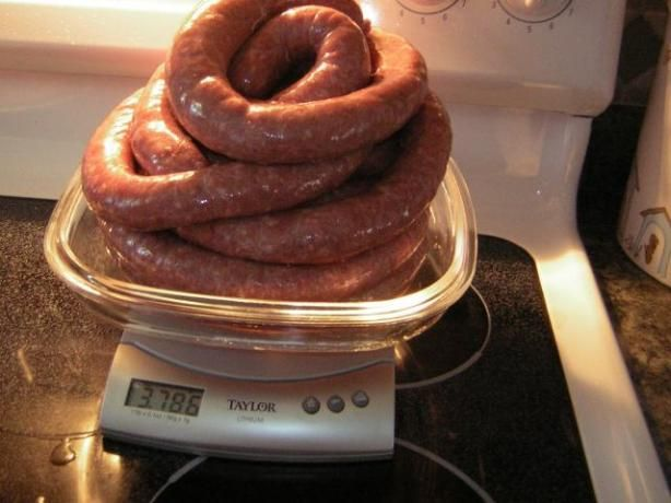 South African Sausage (Boerewors) from Food.com:   								This is the best sausage I have ever had. It will make any South African Homesick instantly. It is very filling. I got it when I lived in South Africa for a couple of years.