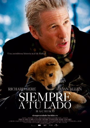Hachiko. Such a sad movie :(