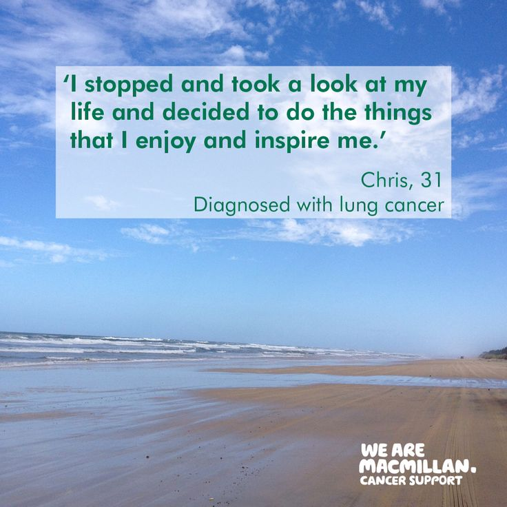 Chris wanted to show that cancer can be turned into something positive and we think his new outlook is spot on. We should all do more of what inspires us. #motivationalquotes #mondaymotivation #inspirationalquotes
