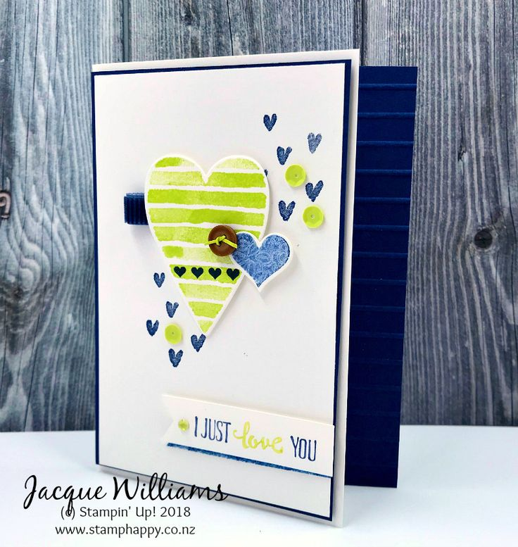 Heart Happiness - Masculine Valentine for Colour Inkspiration #25