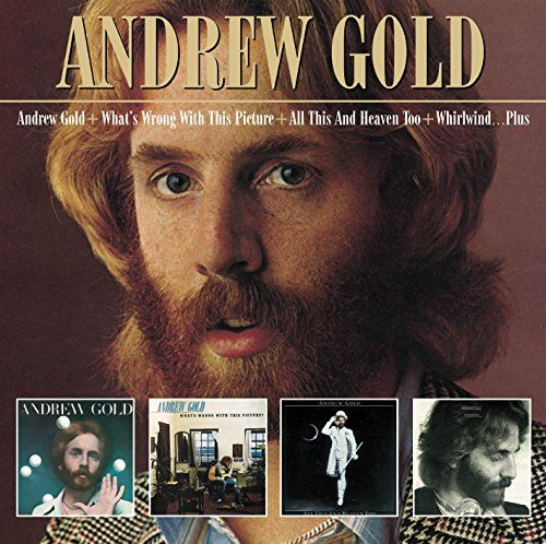 Andrew Gold / What's Wrong With This Picture / All This and Heaven Too / Whirlwind Plus  music compact disc
