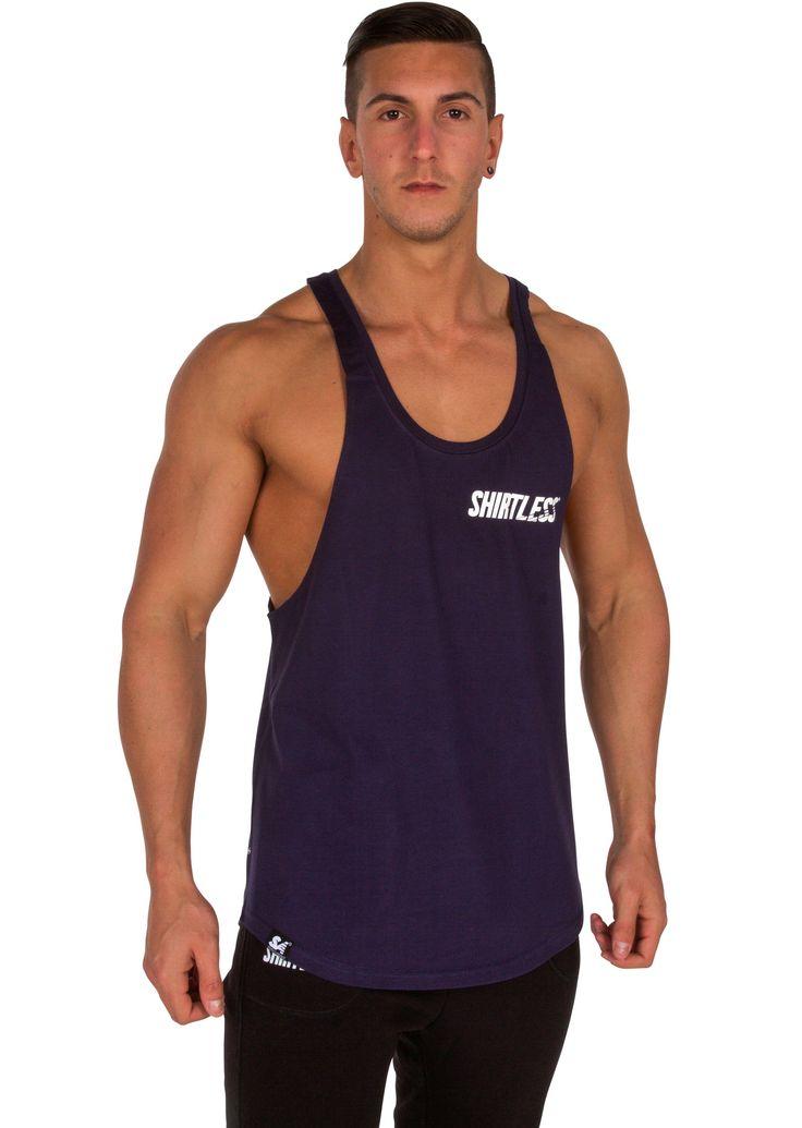Shirtless v2 Stringer from Shirtless Apparel   Performance Apparel
