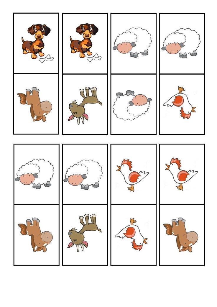 çiftlik hayvanları domino oyunu (3) | Evimin Altın Topu
