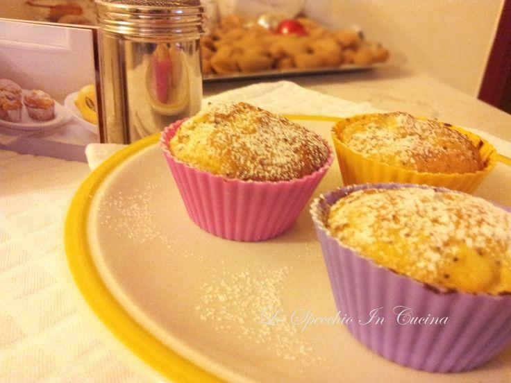 Muffin al papavero e limone , ricetta dolci , contest Muffin idea!