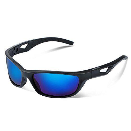 c5e9e5a3046 Duduma Polarized Sports Sunglasses for Mens Womens Baseball Fishing Golf  Running Cycling Driving Softball Hiking Floating Unbreakable Shades Tr80821
