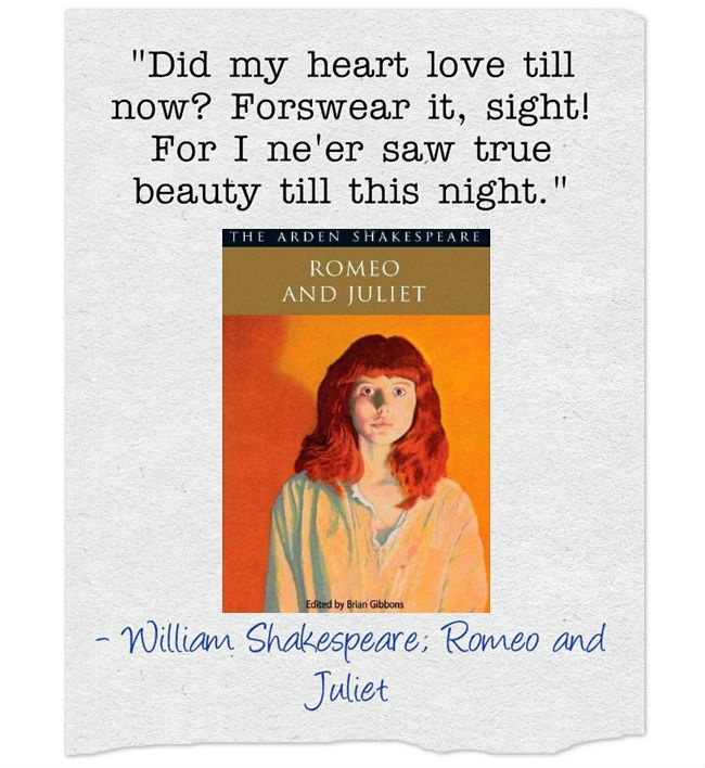 the world of true love in william shakespeares romeo and juliet Arden theatre company presents romeo and juliet, february 25 - april 11 by william shakespeare and love still ring true.