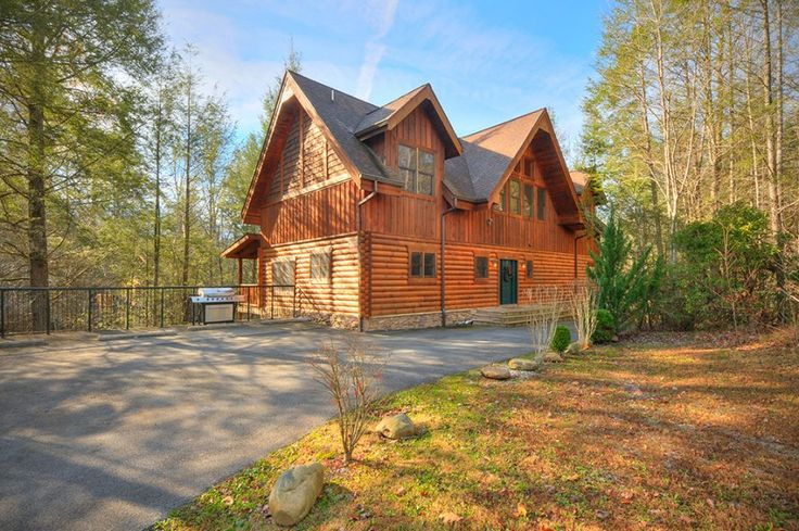 Mountain Lodge - 5 Bedroom Gatlinburg Cabin Rental: Newly Listed Cabin! New pictures coming soon! Luxury has found a home in the Great Smoky Mountains! Mountain Lodge blends beautifully into the mountains with its log and stacked stone exterior. Th