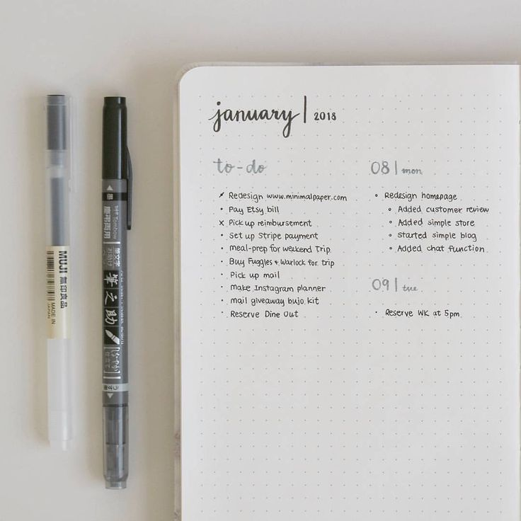 I Love Minimalist Bullet Journals And This One Is Perfect Love The Handwriting Bullet Journal Ideas Pages Bullet Journal Minimalist Bullet Journal