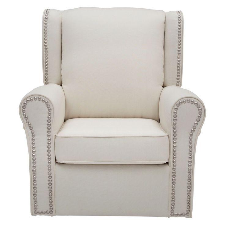 delta children middleton nursery glider swivel rocker chair u2013 cream ivory - Glider Rocker Chair