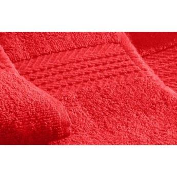 Prosop de baie rosu-1  450 gr. bordura Dobby