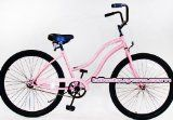 "Micargi Bicycles Touch 26"" Women's Beach Cruiser Bicycle - Pink with Black Rims - http://cyclesuperstore.exercise-equipment-for-home.com/micargi-bicycles-touch-26-womens-beach-cruiser-bicycle-pink-with-black-rims/"
