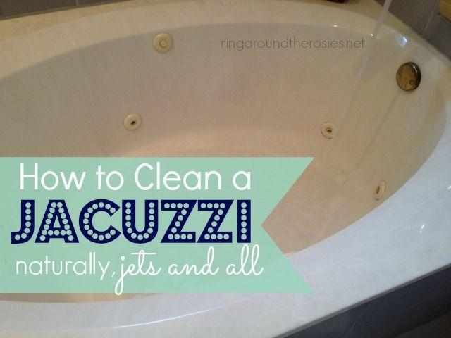 Jacuzzi: Clean Jacuzzi Tub Jets