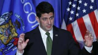 Image copyright                  AP                  Image caption                                      Paul Ryan, presidente de la Cámara de Representantes, fue reelecto por Wisconsin.                                El Partido Republicano mantendrá su mayoría el Congreso de Estados Unidos, completando así una noche de pesadilla para el Partido Demócrata. L