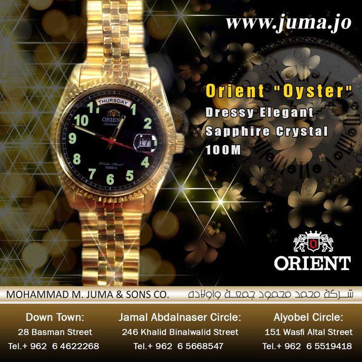 #orientwatch #orientwatches #wristwatch #dressy_elegant #dressy #luxury #fashion #watch #watches #orient #elegant #oyster #juma #jumajordan #jumastore #amman #jordan #jo  https://goo.gl/WPUUaf